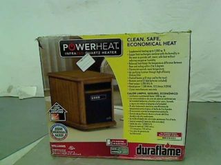 DURAFLAME Williams Infrared Quartz Heater in Oak