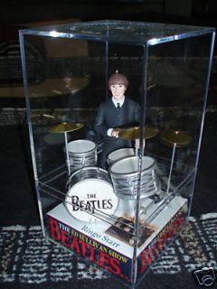 RINGO Ed Sullivan Beatle figure figurine doll case LUDWIG OYSTER