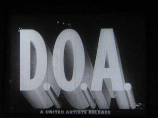 16mm Film 49 DOA   Edmond OBrien   Noir Classic