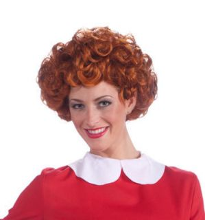 Womens Little Orphan Annie Wig Costume Accessory