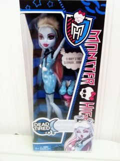 Monster High Dead Tired Abbey Bominable in Hand Fast SHIP New Release
