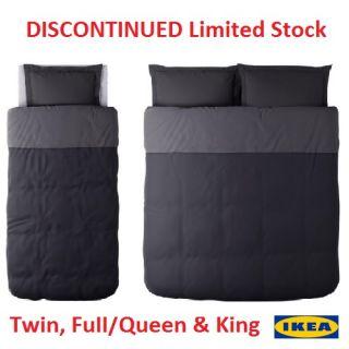 NIP IKEA Malou Duvet Cover Pillowshams King Queen Full Twin