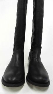 DV by Dolce Vita Womens Riding Boots Sz 7 5 Medium M Black Leather 1 1