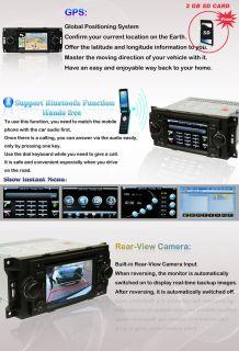 Dodge Durango / Magnum / Ram In Dash Car DVD Player GPS Radio Stereo