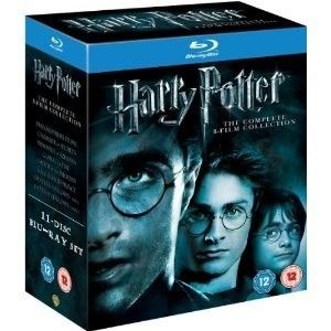 Potter Complete 8 Film Collection 11 Disc BLU RAY DVD Special Box Set