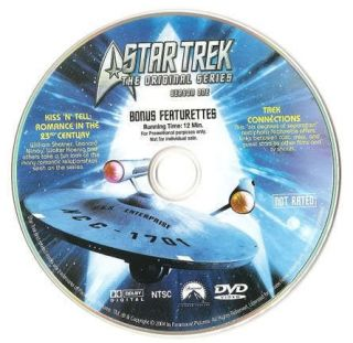 Best Buy Bonus DVD Star Trek The Original Series Season 1 TOS Disc