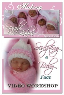 OOAK Baby Fairy How to Sculpt A Baby Face Video Set These Make Great