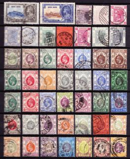 Queen Victoria King Edward VII George V Old Lot Used Stamps
