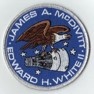 New Original Gemini 4 James McDivitt Edward White Space Mission Patch