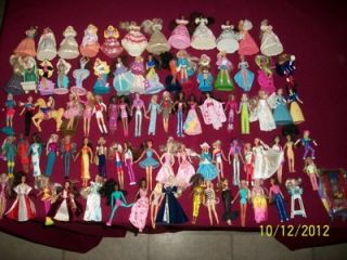 LARGE LOT 84 DIFFERENT MCDONALD BARBIES