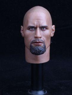 Headplay Dwayne Johnson 1 6 Figure Head Sculpt Fits Hot Toys 12