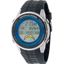 San Diego Chargers NFL Football Wrist Watch Adult Schedule Wristwatch