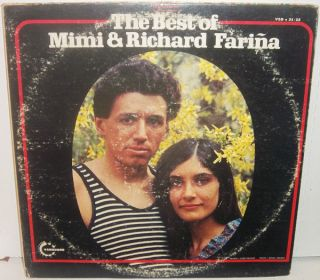 FARINA The Best Of 2LP Farina Bob Dylan Joan Baez Thomas Pynchon