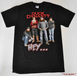 New Mens Duck Dynasty T Shirt Robertson Family from Hit Show s M L XL