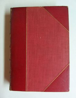 Gone With The Wind by Margaret Mitchell rare RED LEATHER w GILT 1st