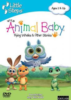 Wild Animal Baby Flying Whales Stories Childrens DVD