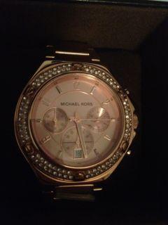NIB Michael Kors Limited Edition Knox Rose Gold Chronograph MK5506