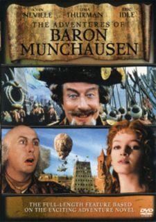 of Baron Munchausen 1988 Movie DVD BRAND NEW John Neville Thurman