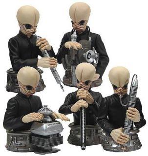 Star Wars Bust UPS mos Eisley Cantina Band Figures Box Set