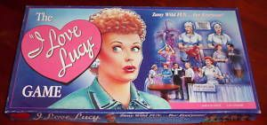I Love Lucy Game 1990 Complete