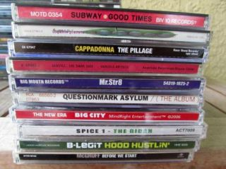 RESELLER LOT OF 68 RAP HIP HOP CDS LISTED GANGSTA EAST COAST EVERYTHIN