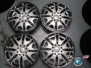 H2 Chevy GMC HD2500 Dodge 2500 22 Wheels Rims Dub Condo Chrome