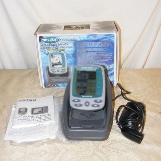 Eagle Cuda 128 Portable Sonar Depth Fish Finder fishfinder Temperature
