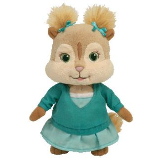 Eleanor from Alvin Chipmunks Ty Beanie Baby in Stock