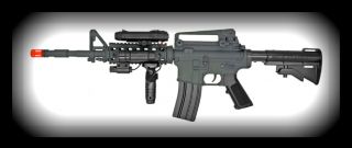 UKARMS M3081A AEG M16 M4 Electric Airsoft Rifle Full Semi Auto
