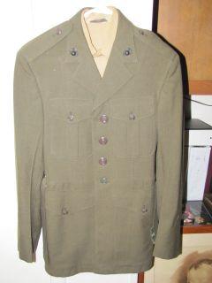 Vietnam Era USMC US Marine Uniform Named EGAs Jacket Pants Shirt 107