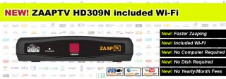 Zaaptv HD 309 IPTV Receiver Arabic Turkish Greek Channels Zaap TV Wi
