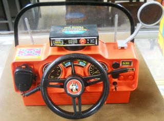 Very RARE 1980 Dukes of Hazzard General Lee Toy Dashboard Complete