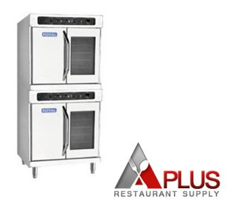 Royal Range Double Deck Electric Convection Standard Depth Oven Reco 2