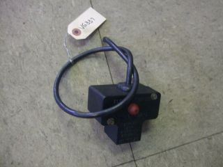 Tecumseh Electric Starter Switch Snowblower Snow Blower Snowthrower