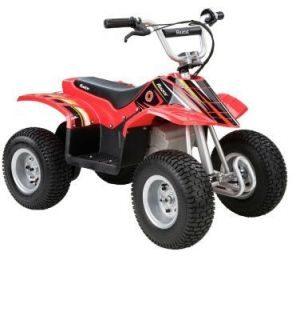 Razor Dirt Quad Electric 4 Four Wheeler ATV Ride On Bike kids car NEW