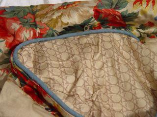 New Tommy Hilfiger East End Floral Full Queen Duvet Comforter Cover