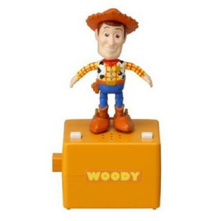 Disney Pop N Step Little Taps Dance Music Box Toy Story 3 Woody