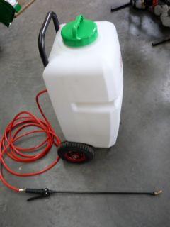 Electric Weed Sprayer Trolley 35 Litre 12V Battery New