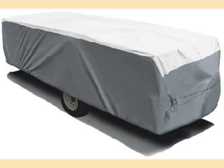 Adco 22853 Dupont Tyvek Hi Lo RV Trailer Cover to 28 Caravan