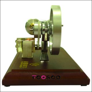Air Stirling Engine Electricity Power Generator Great Educational Toy