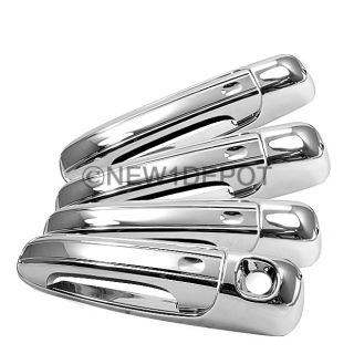 FOR DODGE RAM DAKOTA DURANGO 2007 2006 2005 CHROME DOOR HANDLE COVER