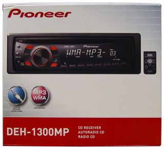 DEH 1300MP CD/ Car Receiver Player Stereo Radio Aux DEH1300MP