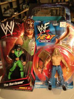 Mattel Basic Series 5 Hurricane Helms WWE ECW with Bonus HHH Figure