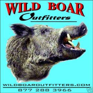 Hog Hunt Wild Boar in East TX 2 Nite Lodging Included