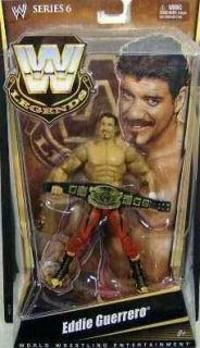 WWE Mattel Eddie Guerrero Legends Series 6 Action Figure
