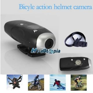 Bike HD DVR Helmet Camera Action Sport Waterproof Camcorder