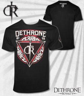 Dethrone Royalty Serpents Black T Shirt New