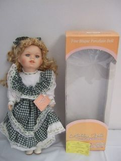 Ashley Belle Porcelain Doll Morgan Look