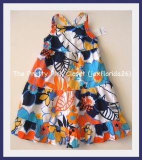 Gymboree Tropical Bloom Floral Print Dress
