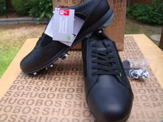 Designer Black Vibram Golf Club Bag Balls Swing Tee Shoes 11 45